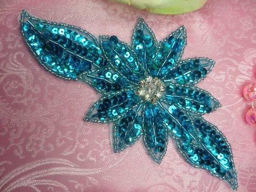 Flower & Floral Sequin Appliques