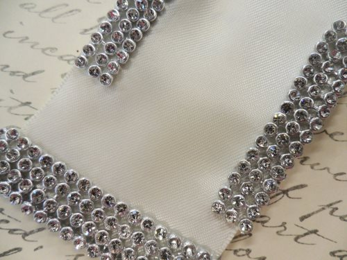 Bridal Sash Applique DIY