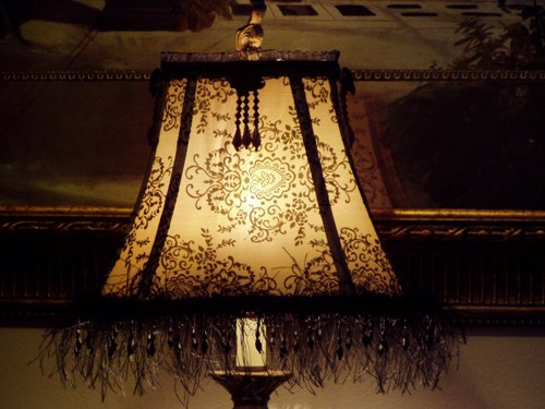 lampshade craft diy