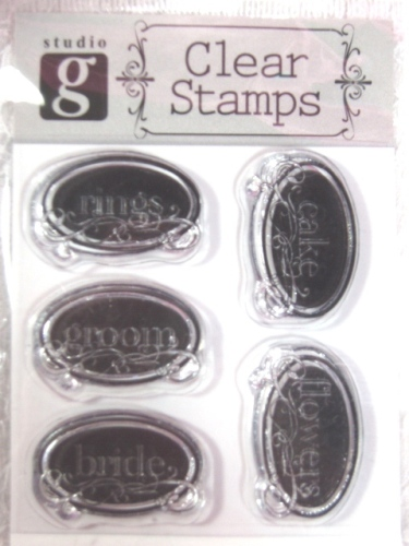 RS15  Clear Stamp Bridal Stamps