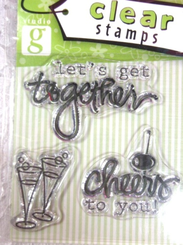 RS21  Clear Stamp Cheers Stamps