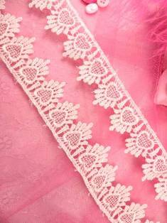 C124  Ivory Venice Lace Victorian Sewing Trim 1.75""