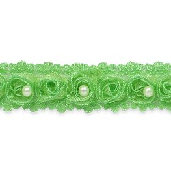 E4444 Peapod Lace Wedding Bridal Sewing Trim 1""