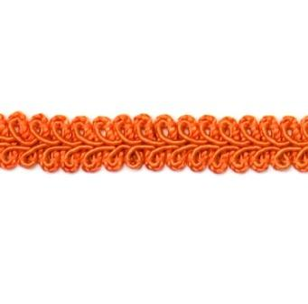 E1901  Rust Orange Gimp Sewing Upholstery Trim 1/2""