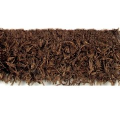 E2585 Brown Hairy Gimp Fringe Sewing Trim