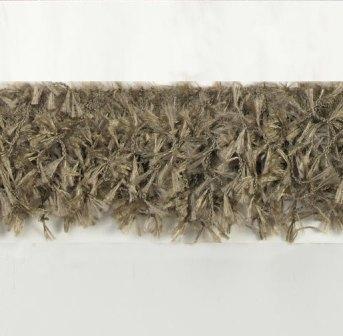 E2585 Olive Hairy Gimp Fringe Sewing Trim