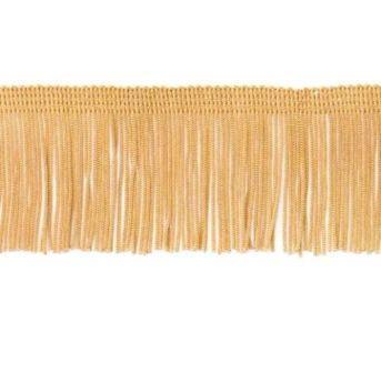 "E4424 Gold Chainette Fringe Trim 2"""