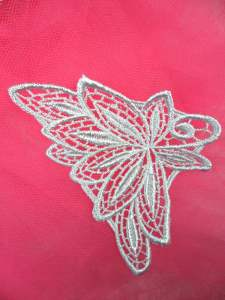MS71 Light Blue Embroidered Applique 3.75""
