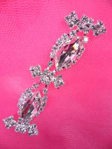 MS96 Applique Crystal Rhinestone Patch 2.5""