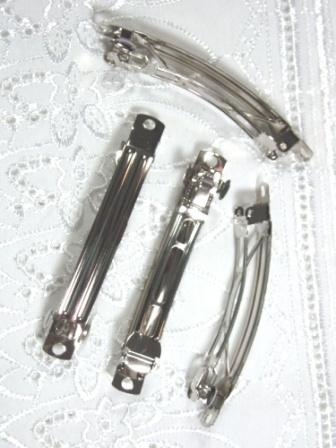 """D01 Set of (4 ) French Clip Hair Barrettes 2.75"""""""