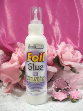 Jones Tones Foil Glue for Crafts 4 oz.