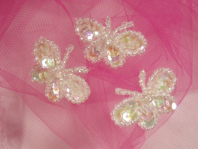 Butterfly Sequin Appliques