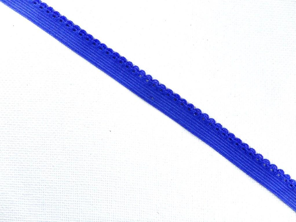 BL140  Blue Elastic Sewing Craft Trim 1/4