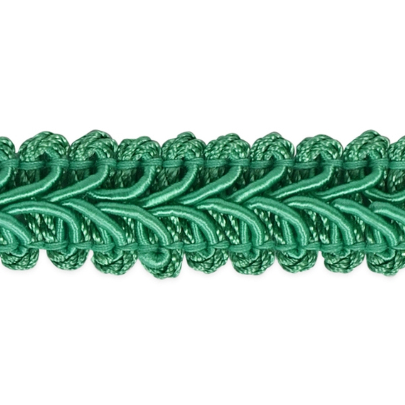 E1901 Teal Gimp Sewing Upholstery Trim 1/2