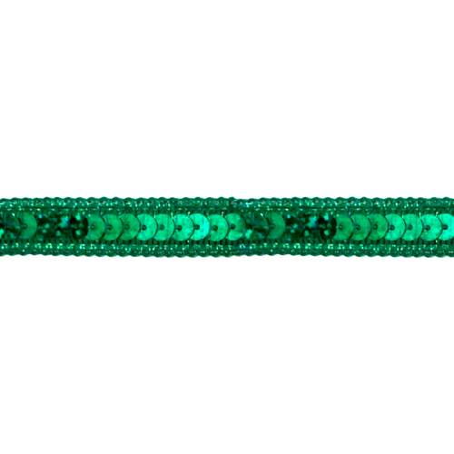 E6172  Holographic Green Sequin Sewing Trim