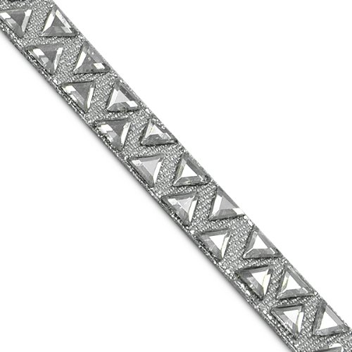 E7009 Crystal Diamond Hot Fix Rhinestone Banding Trim 3/8\