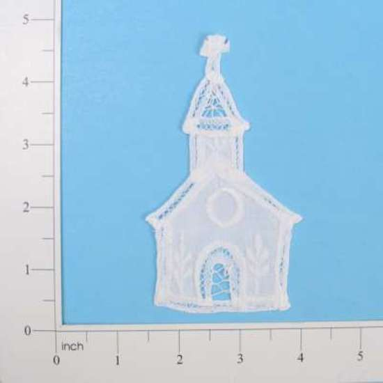 E5253 Battenburg Victorian Church Lace Applique 4