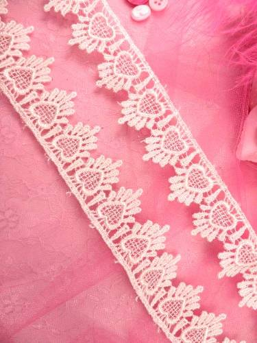 C124  Ivory Venice Lace Victorian Sewing Trim 1.75\