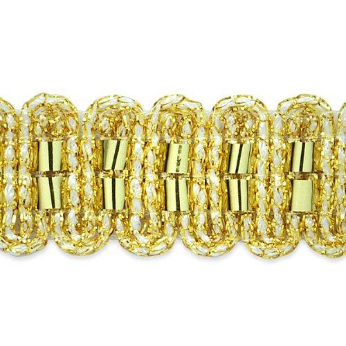 E7034 Gold Metallic Braid Sewing Craft Trim 3/4\