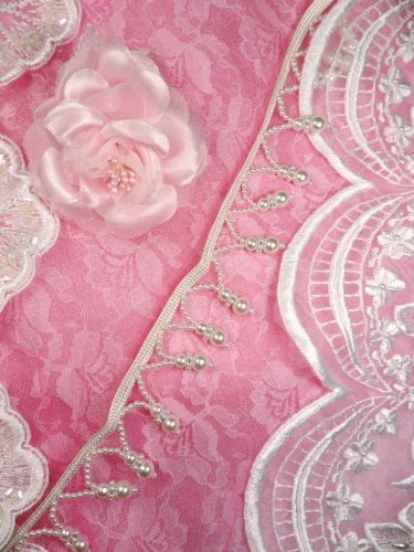RMFS3400TP-24 REMNANT Pearl White Fringe Sewing Trim