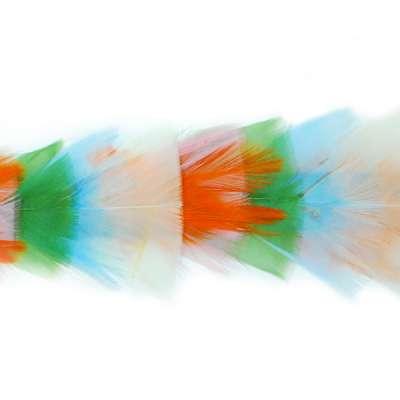P4014 Multi Pastel Color Feather Trim Pre-Cut 36