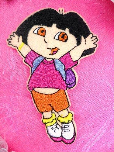 GB20 Dora The Explorer Embroidered Applique 3.5