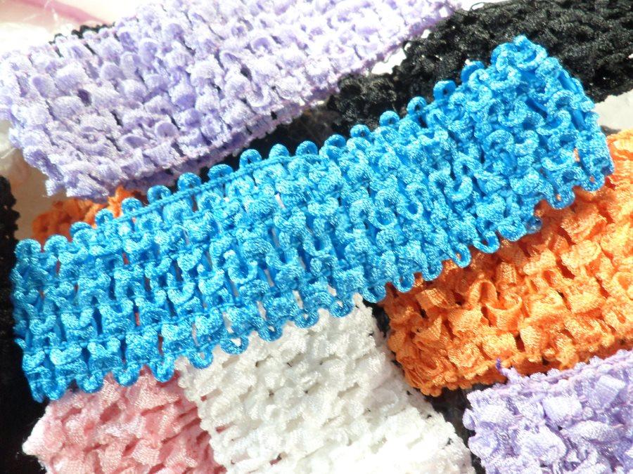 Crochet Stretchy Baby Headbands Diy Hair Bows