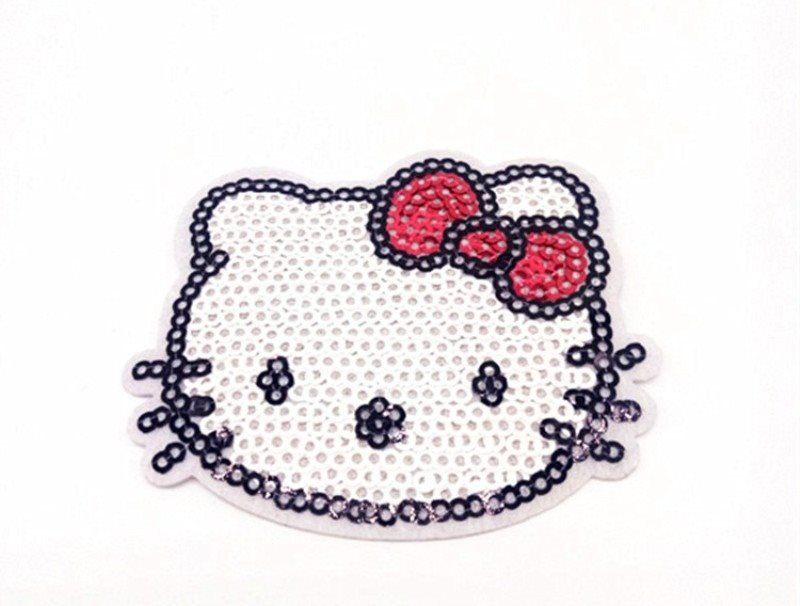 Hello Kitty Sequin Applique  2.5 GB825