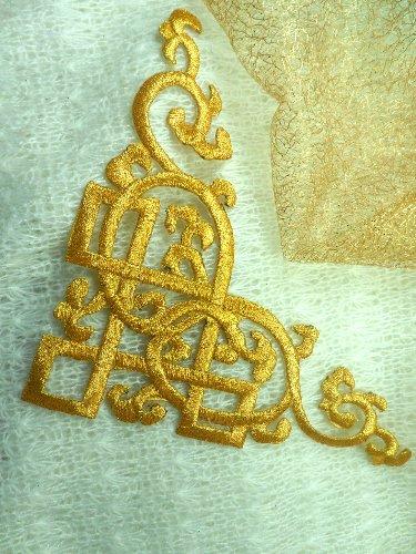 Home · Clothing · Sweatshirts; Rose Embroidered Applique Sweatshirt