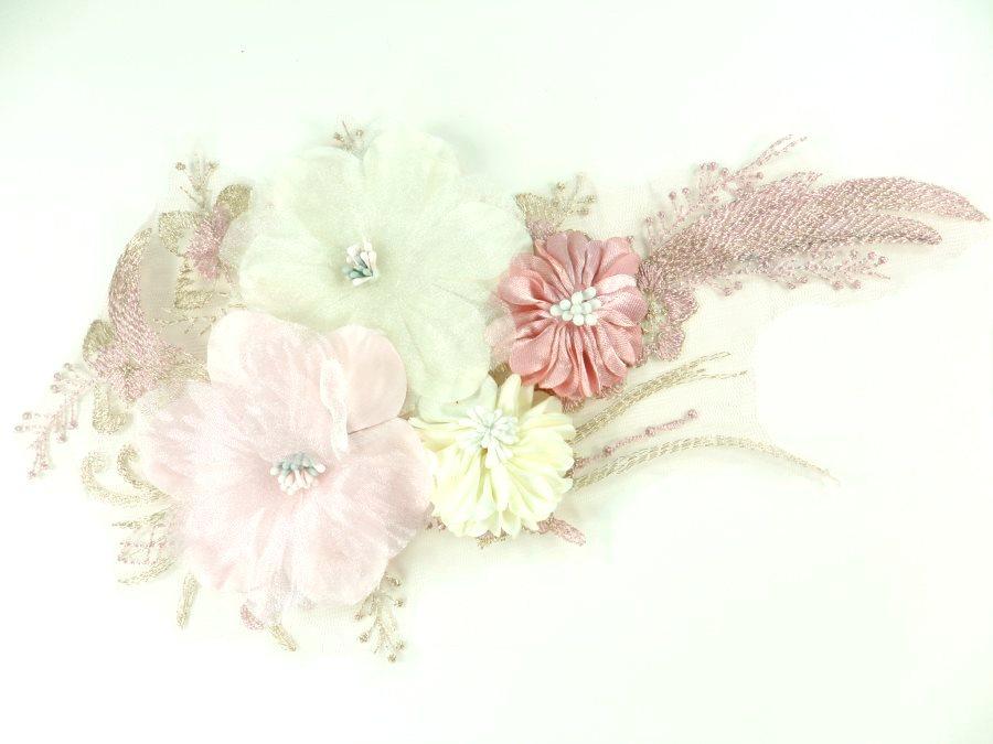 3D Applique Venice Lace Floral Sewing Clothing Patch 11 GB923