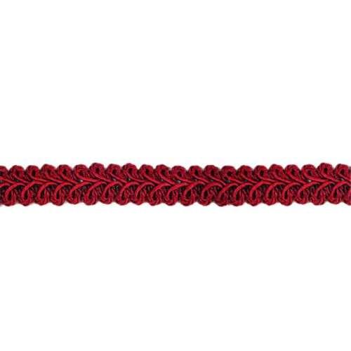 E1901  Burgundy  Gimp Sewing Upholstery Trim 1/2