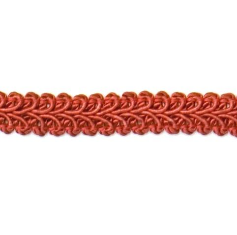 E1901  Cranberry Gimp Sewing Upholstery Trim 1/2