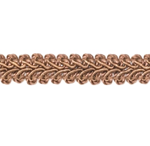 E1901  CoCo Brown Gimp Sewing Upholstery Trim 1/2