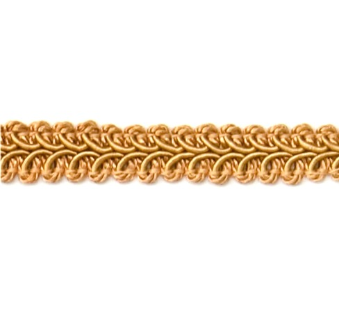 E1901  Gold Gimp Sewing Upholstery Trim 1/2