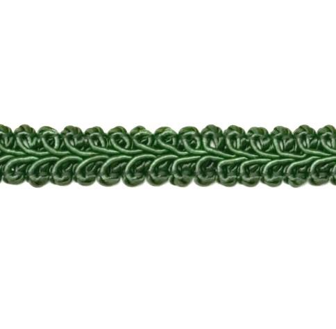 E1901  Hunter Green Gimp Sewing Upholstery Trim 1/2