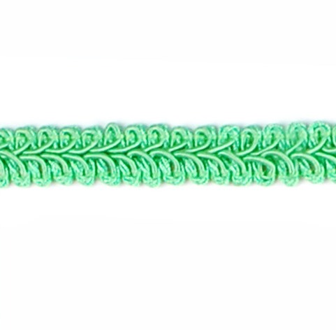 E1901 Lime Green Gimp Sewing Upholstery Trim 1/2