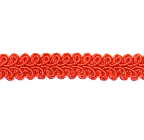E1901  Red Gimp Sewing Upholsterly Trim 1/2
