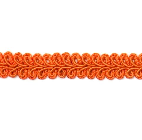 REMNANT Rust Orange Gimp Sewing Upholstery Trim 7 RME1901