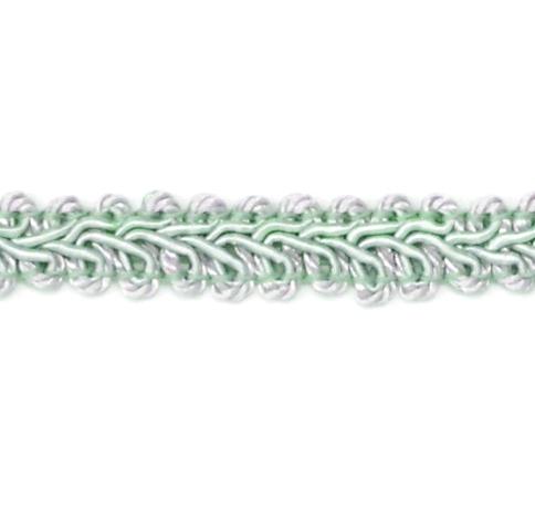 RME1901-SF-16  Seafoam Green Gimp Sewing Upholstery Trim 1/2
