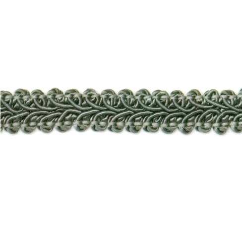 E1901  Sage Green Gimp Sewing Upholstery Trim 1/2