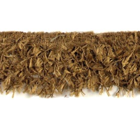 E2585 Camel Hairy Gimp Fringe Sewing Trim