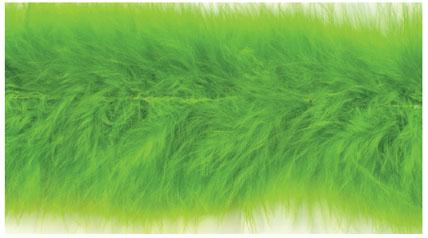 E3760 Lime Marabou Feather Fur Sewing Trim 2\