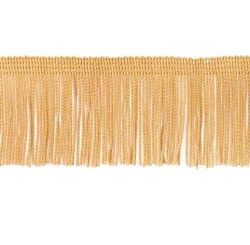 E4424 Gold Chainette Fringe Trim 2