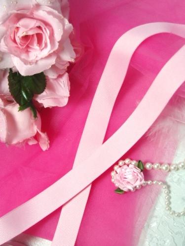 R3  Pink Grosgrain Craft Ribbon 7/8\