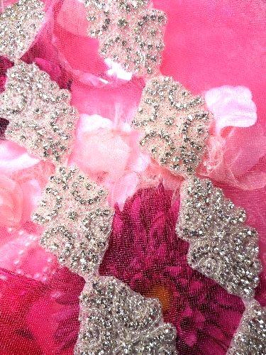XR131 Baby Cinderella Crystal Rhinestone Beaded Trim