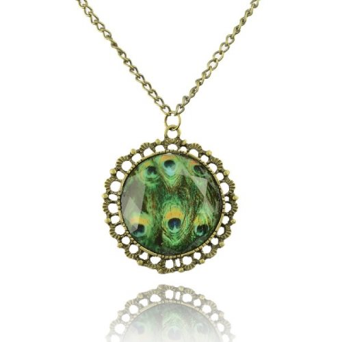 GB35 Peacock Vintage Fashion Necklace Chain