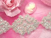 0477  Cinderella  Genuine Rhinestone Beaded Trim 2""