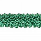 E1901 Teal Gimp Sewing Upholstery Trim 1/2""