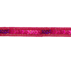 E6172  Holographic Fuchsia Sequin Sewing Trim