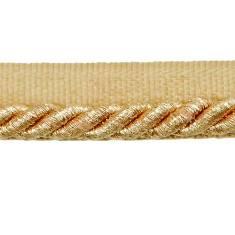 "E6704 Metallic Gold Lip Cord Trim 1/4"""